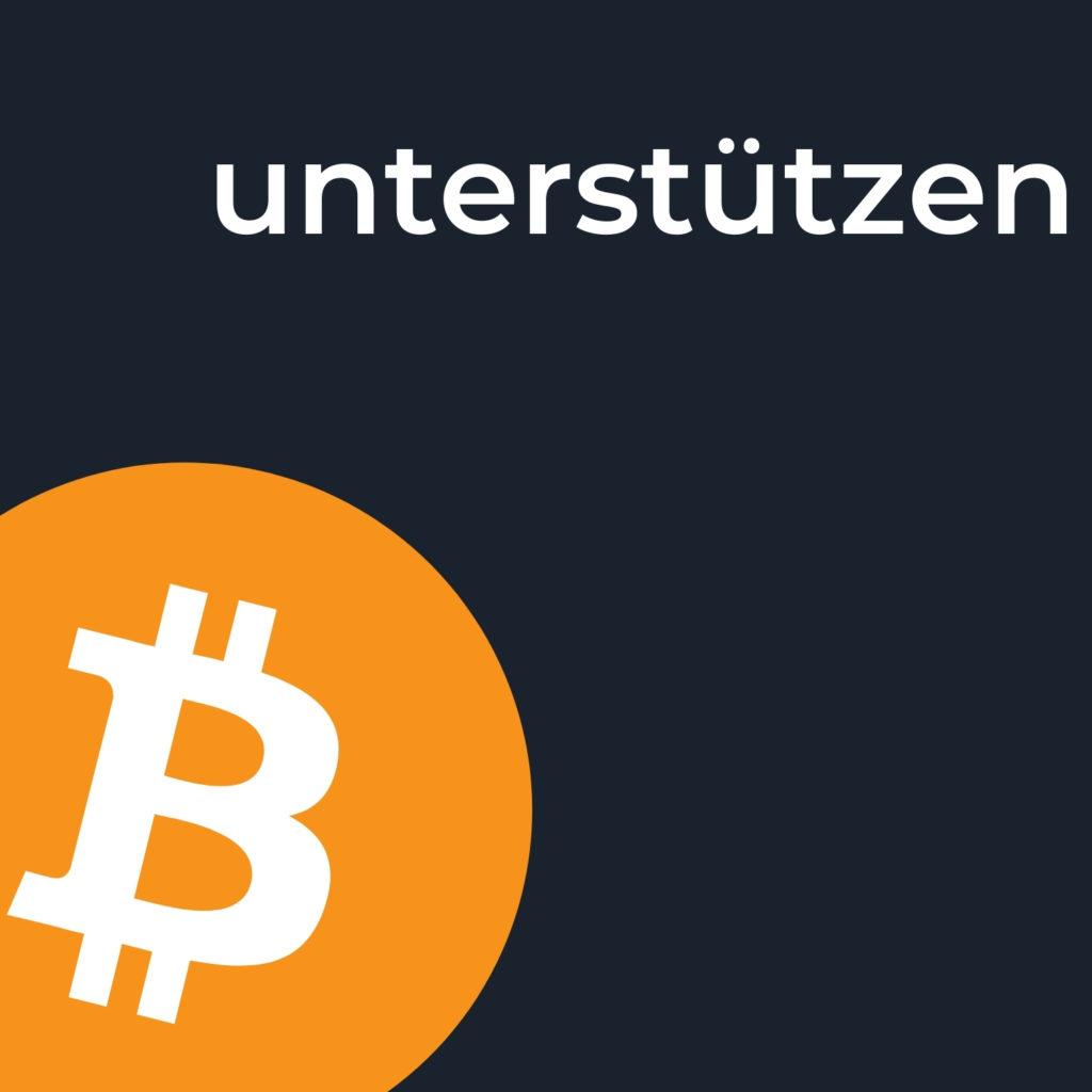 Bitcoin verstehen unterstützen spenden