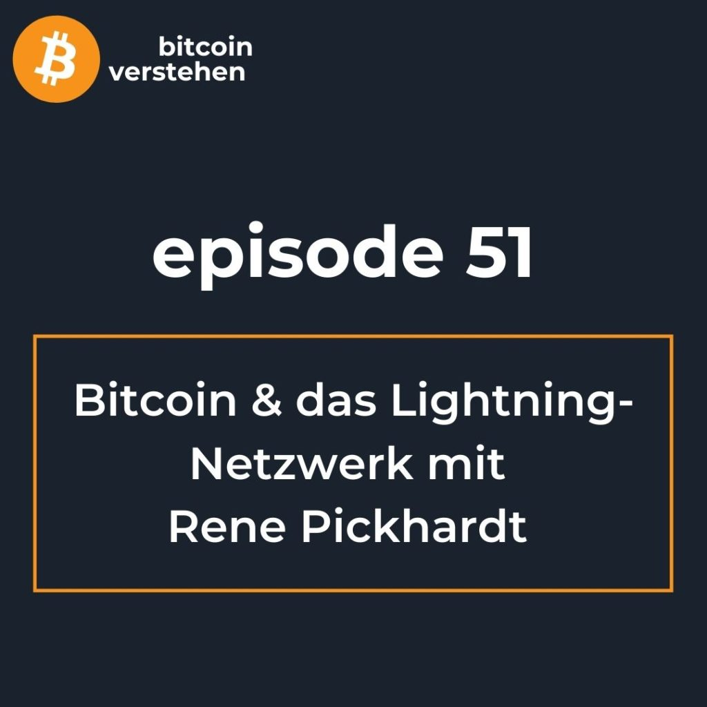 Bitcoin Podcast Lightning Netzwerk Rene Pickhardt