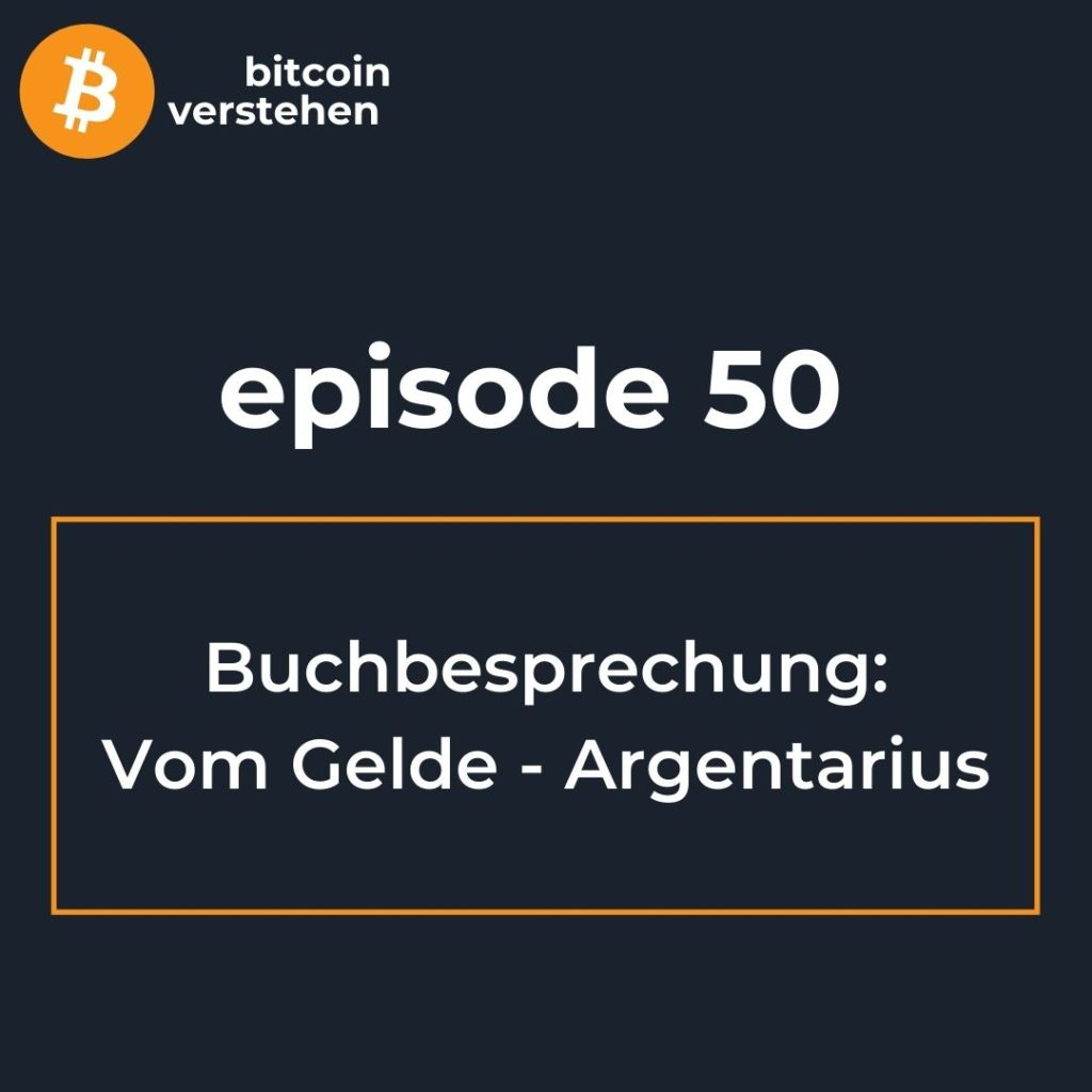 Bitcoin Podcast Buch Vom Gelde