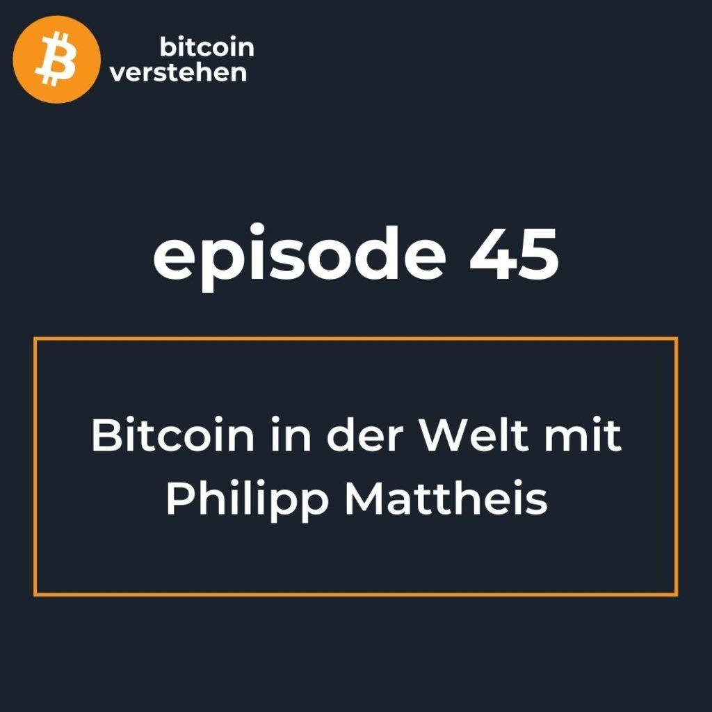 Bitcoin Podcast Türkei China Philipp Mattheis