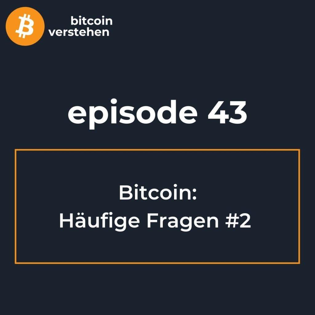 Bitcoin Podcast Häufige Fragen 2