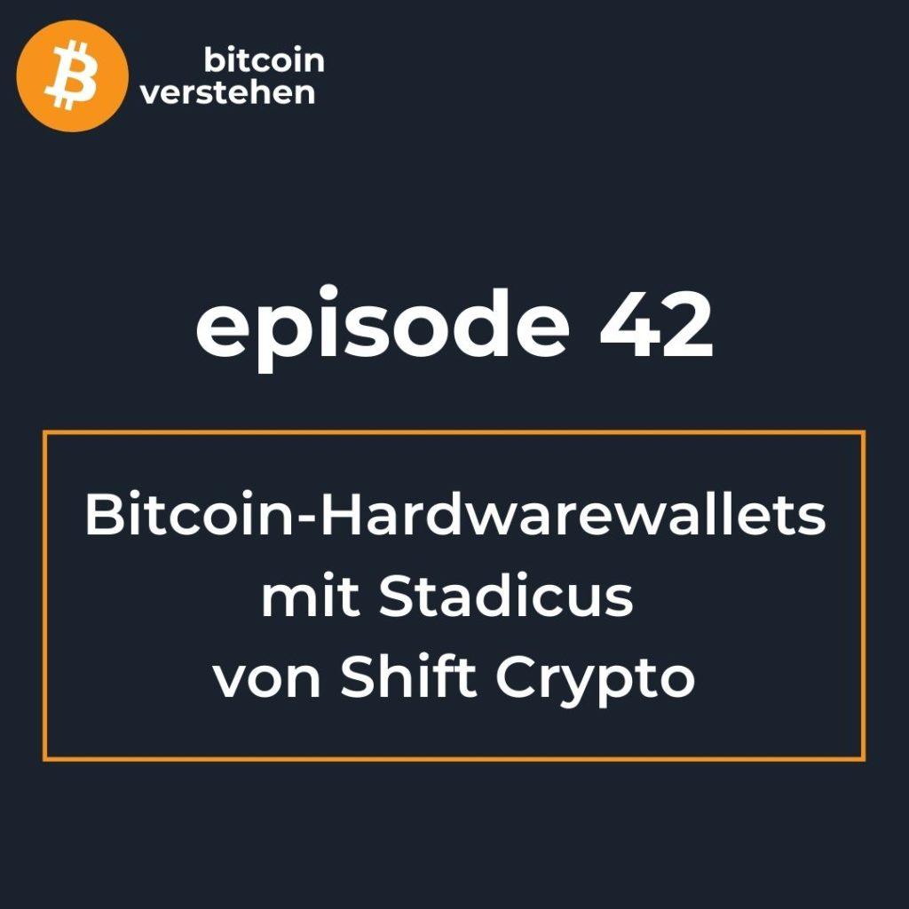 Bitcoin Podcast Hardwarewallets BitBox Shift Stadicus
