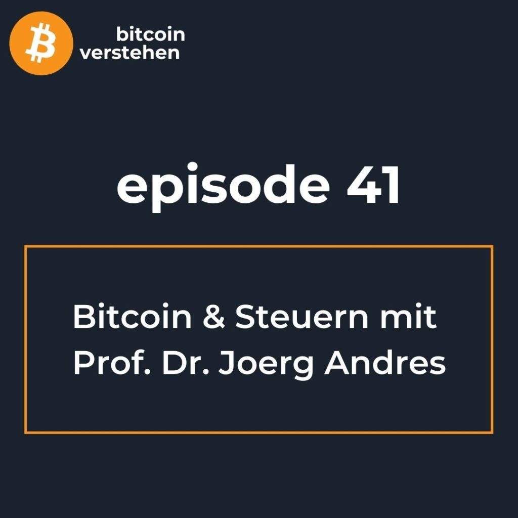 Bitcoin Podcast Steuern Anwalt Andres