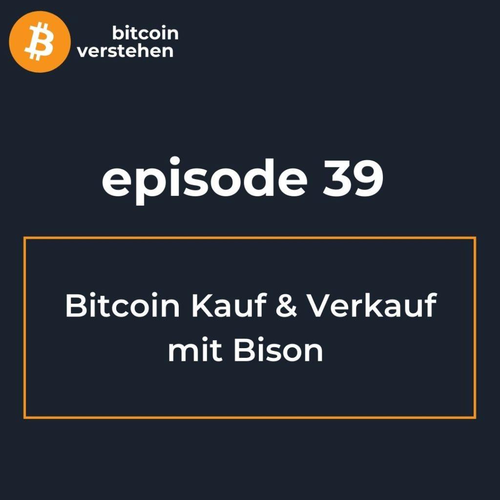 Bitcoin Podcast Kauf Bison App