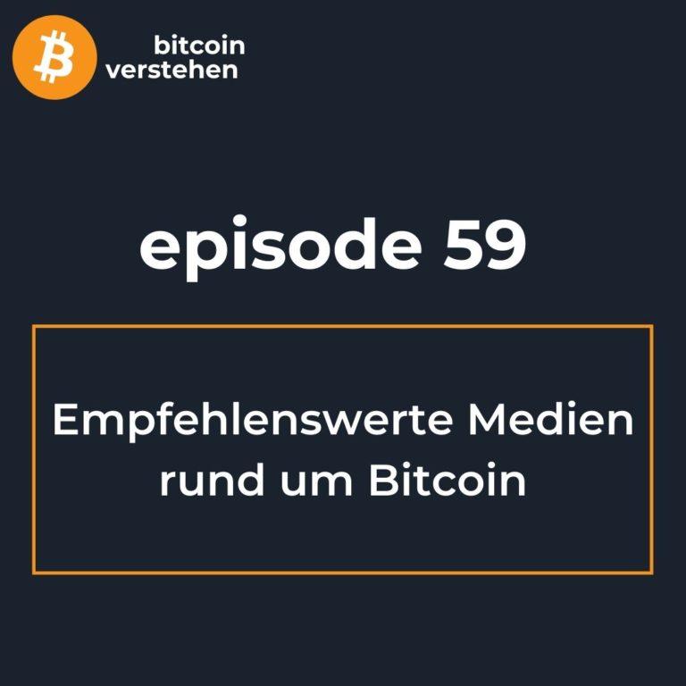 Bitcoin Podcast Medien Einsteiger