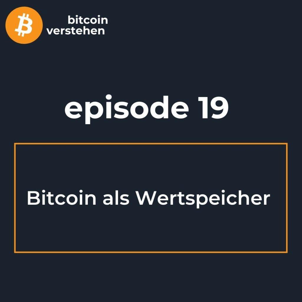 Bitcoin Podcast Wertspeicher