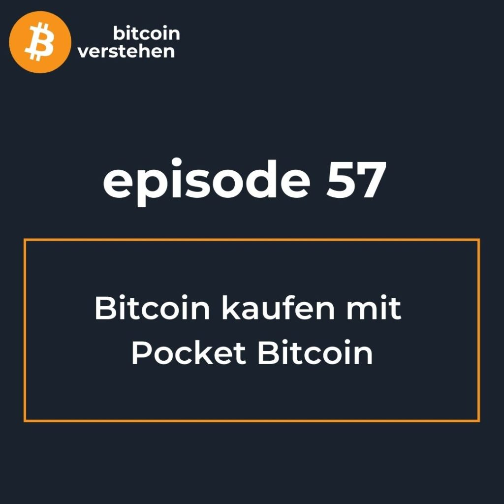 Bitcoin Podcast Kaufen Pocket Bitcoin
