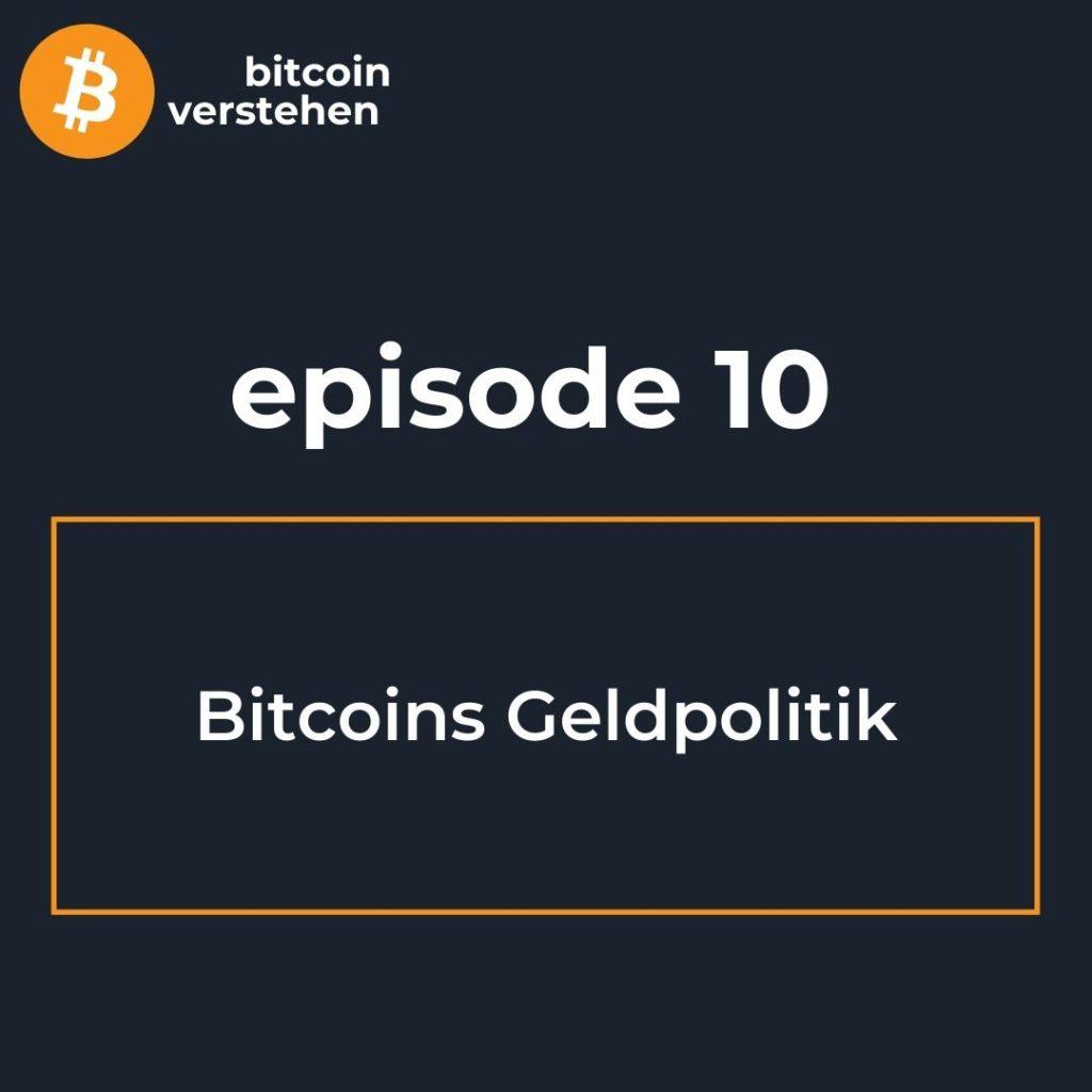 Bitcoin Podcast Geldpolitik