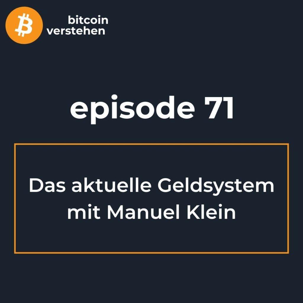 Podcast Bitcoin Geldsystem Finanzsystem