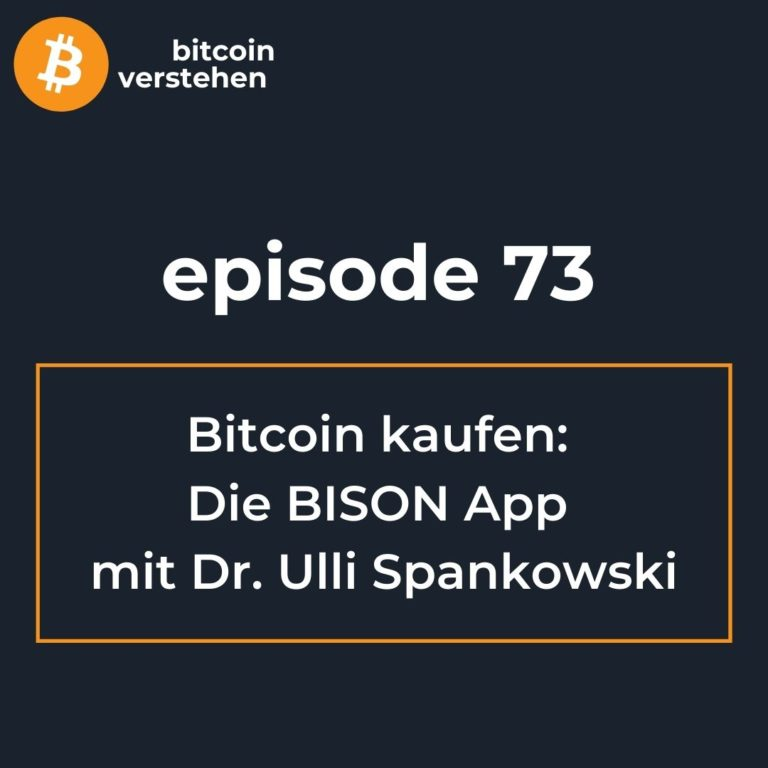Podcast deutsch Bitcoin kaufen Bison Spankowski